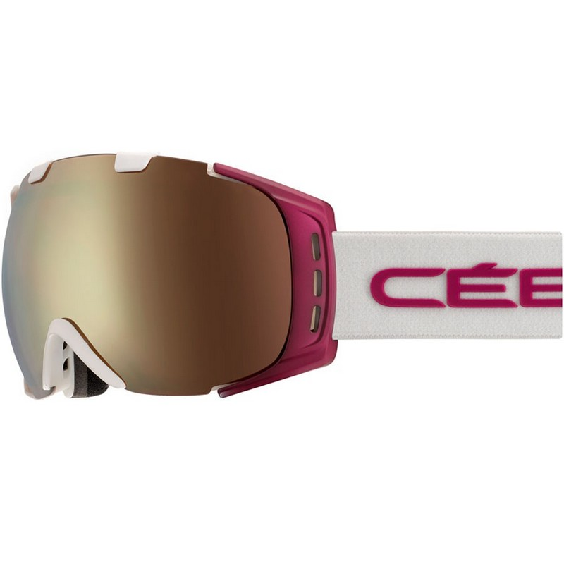 CEBE ORIGINS M Mat White Cranberry Dark Rose Flash Gold Cat.3