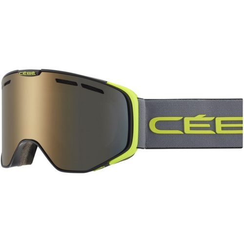 CEBE VERSUS Mat Black Grey Lime Dark Smoke Flash Gold Cat.3
