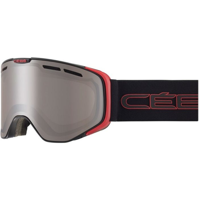 CEBE VERSUS Mat Black Red Amber Light Flash Mirror Cat.1
