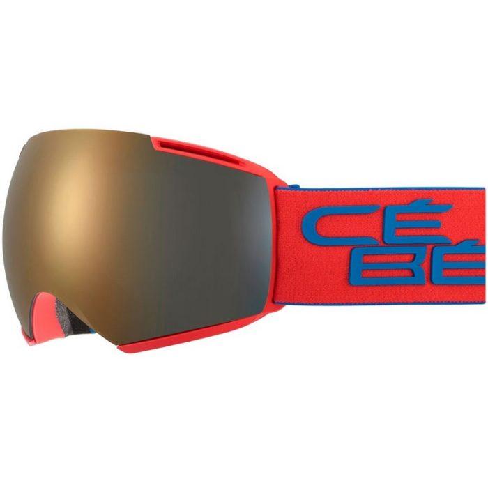 CEBE ICONE Mat Red Blue Dark Smoke Flash Gold Cat.3 - Amber Flash Mirror Cat.1