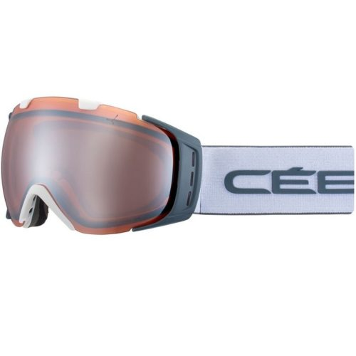 CEBE ORIGINS L Mat White Grey Orange Flash Mirror Cat.2