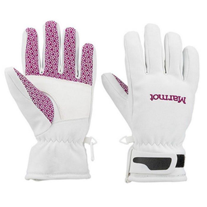 Marmot Glide Softshell Glove White