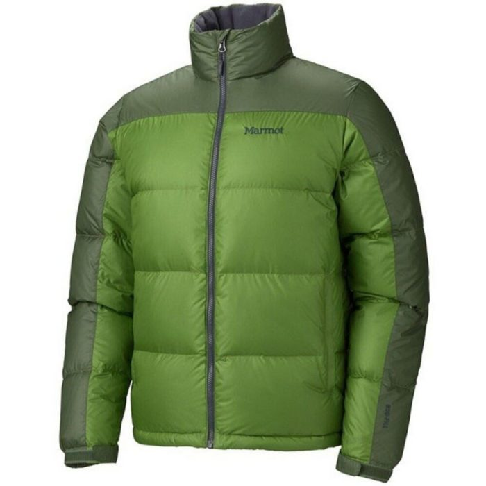 Marmot Guides Down Sweater Green Pepper-Midnight Green