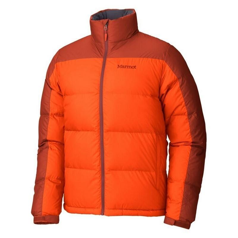 Marmot Guides Down Sweater Sunset Orange-Orange Rust