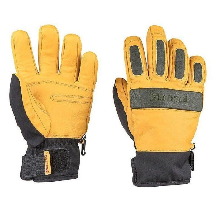 Marmot Tahoe Undercuff Glove Tan