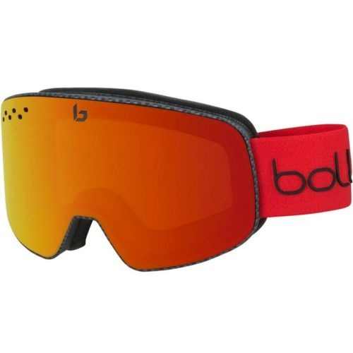 Bolle NEVADA Matte Carbon Diagonal Sunrise