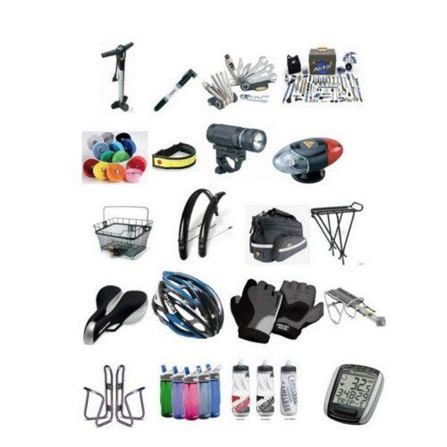 Велозапчастини та аксесуари