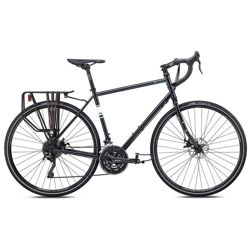 Велосипед Fuji TOURING DISC 2020 anthracite