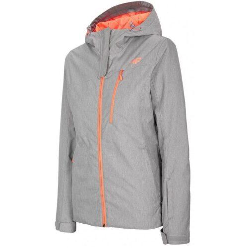 Куртка 4F H4Z20-KUDN003 COLD LIGHT GREY MELANGE