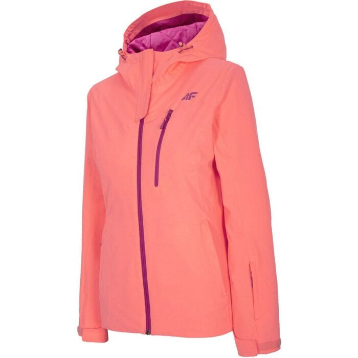 Куртка 4F H4Z20-KUDN003 SALMON CORAL NEON