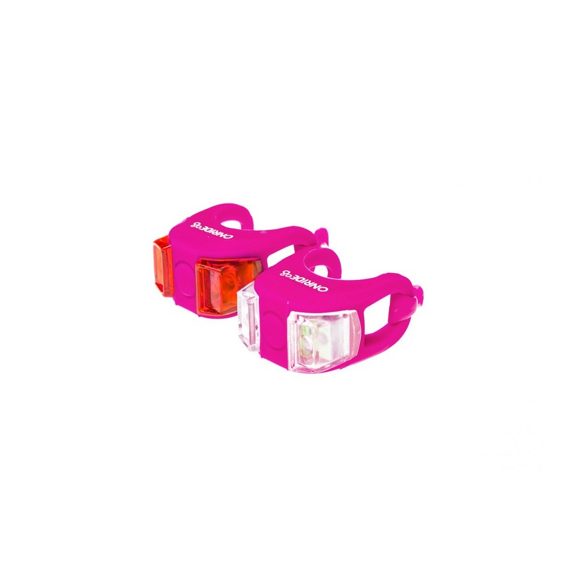 Мигалка Onride силіконова Dual рожевий