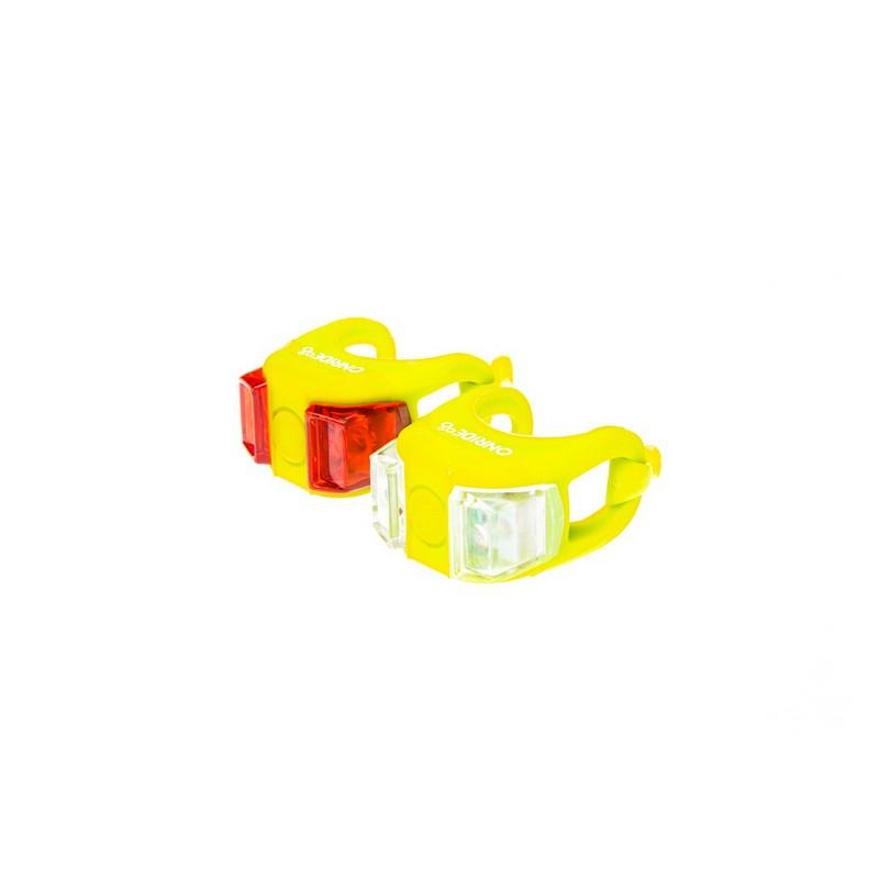 Мигалка Onride силіконова Dual жовтий
