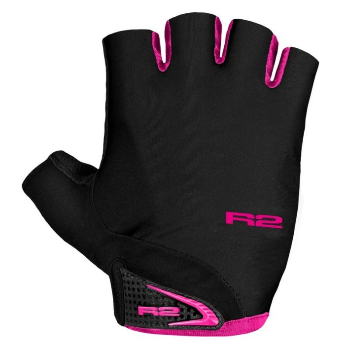 Рукавиці R2 Riley black-pink