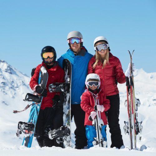 Лижне та сноубордове спорядження