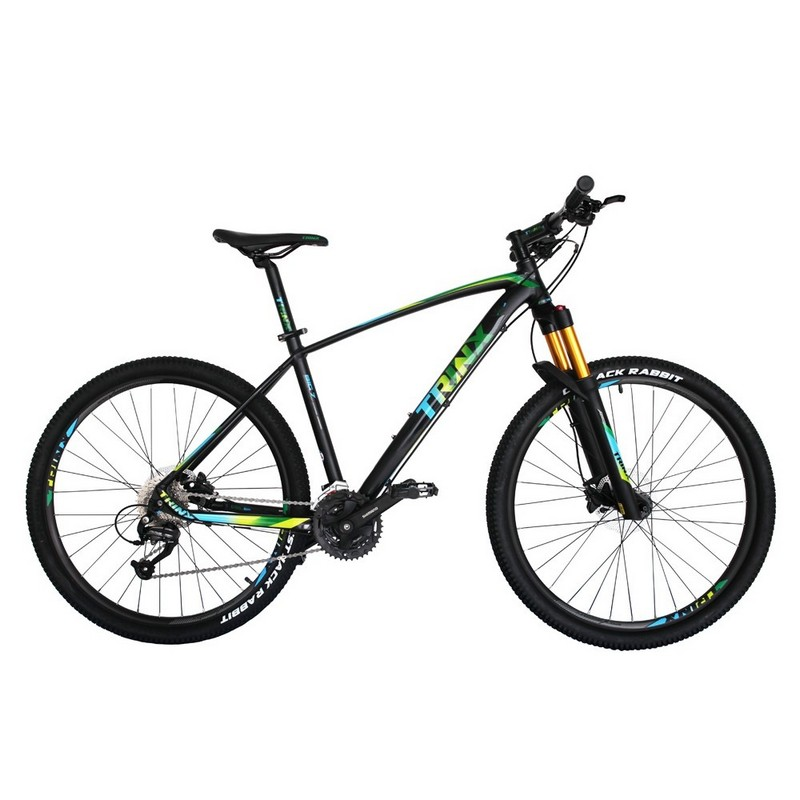Trinx B700 Matt-Black-Green-Black