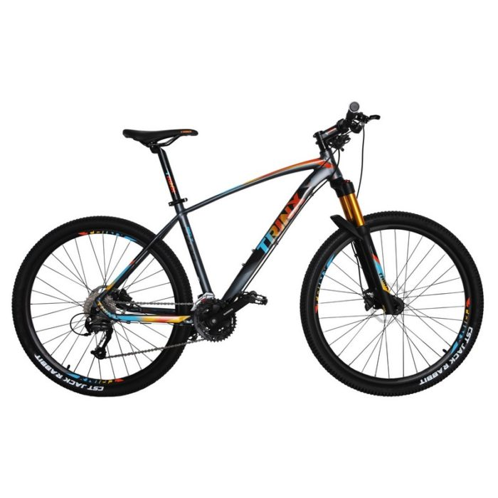 Trinx B700 Matt-Grey-Orange-Blue
