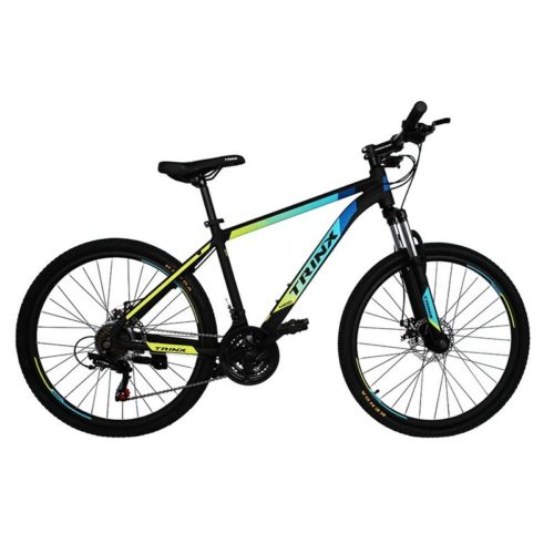 Trinx M100 Matt-Black-Blue-Yellow