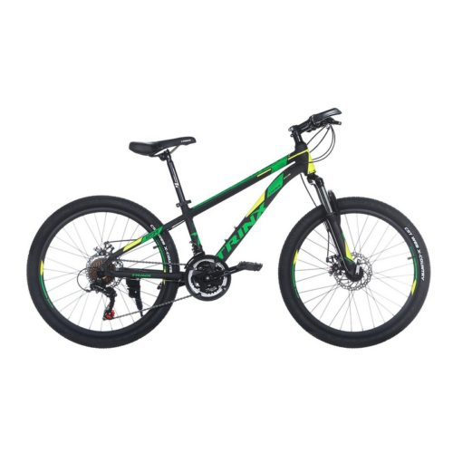 Trinx M134 Matt-Black-Yellow-Green