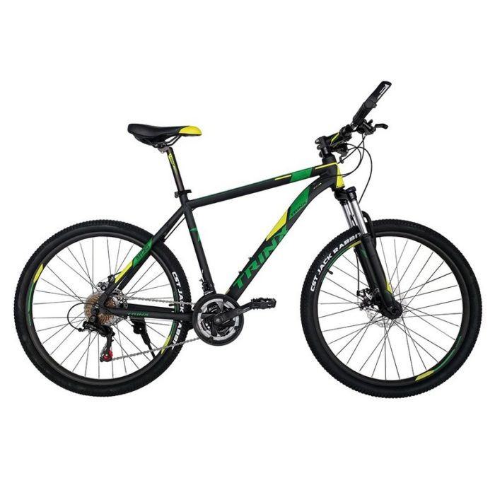 Trinx M136 Matt-Black-Yellow-Green