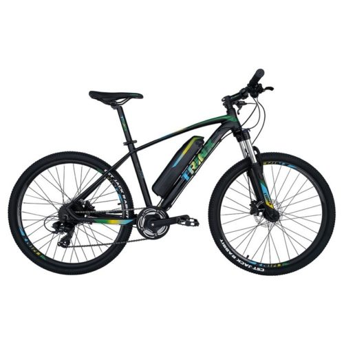 Trinx X1E Matt-Black-Green-Blue