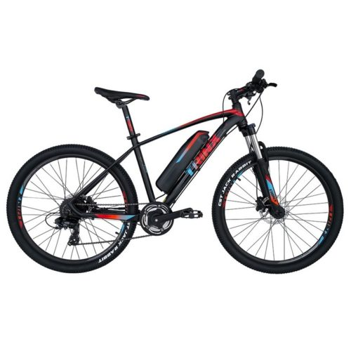 Trinx X1E Matt-Black-Red-Blue