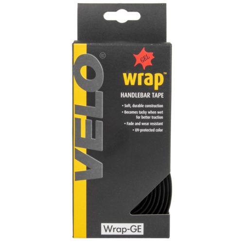 Обмотка руля VELO Gel-Kork handlebar tape black p