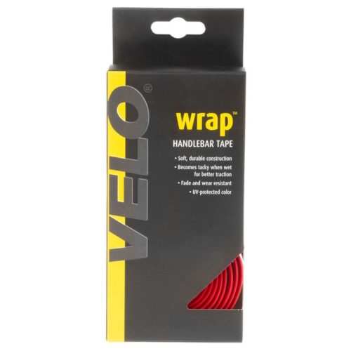 Обмотка руля VELO Grip handlebar tape red